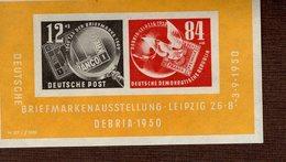 DDR Block 007 Briefmarkenausstellung **/* MNH/MLH (5) - Blocks & Kleinbögen