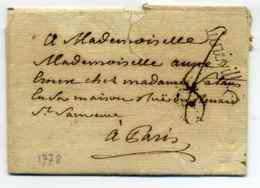 LUNEVILLE  Lenain N° 3 / Dept 52 Meurthe Et Moselle / 1778 - 1701-1800: Precursores XVIII