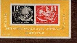 DDR Block 007 Briefmarkenausstellung **/* MNH/MLH (6) - Blocks & Kleinbögen