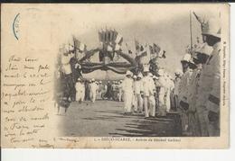 Diego Suarez Arrivee Du Général Gallieni Cachet Madagascar - Madagascar