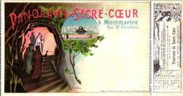 ART Anno 1900 LITHO POSTCARD, +ticket Entrée Expos RARES De L'exposition Artist GUIDI Montagne Russe Electriques - Andere Illustrators