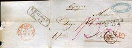 PREFILATELIA    Carta De  Mannheim A  Bilbao  (21-IX-1818 ) - 019 - España