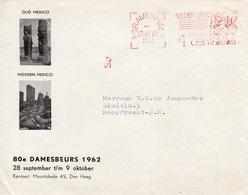 10 VIII 1962    Baarfrankering 4 Cent Rechts  Van 's Gravenhage  . Op Geïllustreerde Envelop Met Firmalogo Naar Moordrec - Postal History