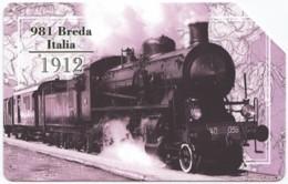 ITALY H-612 Magnetic Telecom - Traffic, Historic Steam-locomotive - Used - Italien