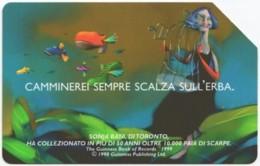 ITALY H-628 Magnetic Telecom - Cartoon - Used - Italien