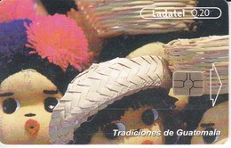TARJETA DE GUATEMALA DE TRADICIONES MUÑECAS DE TRAPO - Guatemala