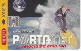 TARJETA DE ECUADOR DE PORTANET $30000 (SURF) - Equateur