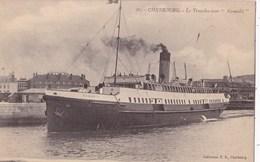 CHERBOURG-005.....TRANSBORDEUR NOMADIE - Cherbourg