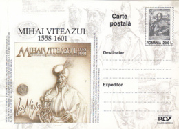 KING MICHAEL THE BRAVE OF ROMANIA, PC STATIONERY, ENTIER POSTAL, 2004, ROMANIA - Interi Postali