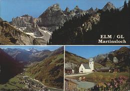 11337535 Elm GL Martinsloch Mit Tschingelhoerner Kirche Elm - GL Glaris