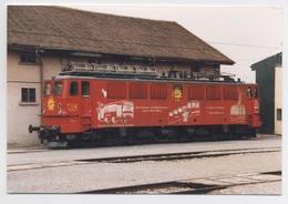 PHOTOGRAPHIE De LOCOMOTIVE ALLEMANDE - 1999 - Trains