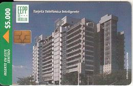 COLOMBIA - EEPP De Medellin, Telepsa Telecard $5000, Chip GEM3.1, Used - Kolumbien