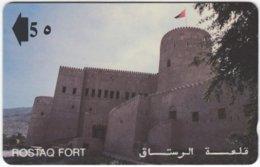 OMAN A-782 Magnetic Telecom - Culture, Fort - 9OMNC - Used - Oman