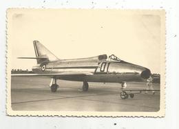 JC , Photographie , Aviation, Avion, Super Mystére,  125 X 85 Mm - Aviation