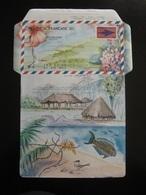 Polynésie: TB Aérogramme N°8 . Neuf XX. - Aérogrammes