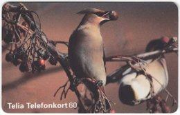 SWEDEN A-832 Chip Telia - Animal, Bird - Used - Sweden