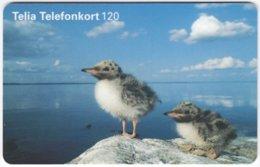 SWEDEN A-854 Chip Telia - Animal, Bird - Used - Suède