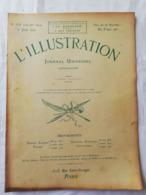 L'ILLUSTRATION - Année 1907 / Ecroulement Phare Coubre / Souverains Norvégiens à Paris / Haakon - Books, Magazines, Comics
