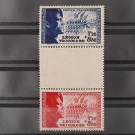 FRANCE N°565 Et 566 Avec Intervalle N** Cote 27€ - France