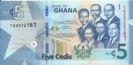 GHANA 5 CEDIS 2019 UNC P 46 - Ghana