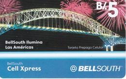 TARJETA DE PANAMA DE BELLSOUTH DE B/.5 PUENTE DE LAS AMERICAS - Panama