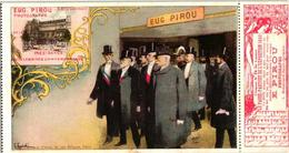 1cpa Carnet De EXPOSITION PARIS 1900c1900 LITHO POSTCARDartistGUIDI , +ticket RARE, Photographe E. PIROU - Illustrators & Photographers