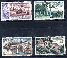 Madagascar Madagaskar Luftpost Y&T PA 74° - PA 77° - Madagaskar (1889-1960)