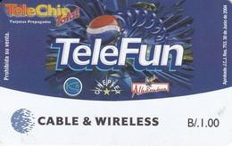 TARJETA DE PANAMA DE CABLE WIRELESS DE B/.1 DE PEPSI COLA - Panama