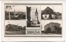 DOBRUŘKA - Vue Multiple , Cp Photo - Tchéquie