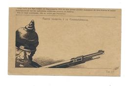 Unique - Dessin à L'encre - 14-18  - Brigadier Émile GOFFINET 1917 - Correpondance Des Armées De La République - Andere