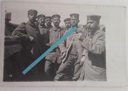 1914 Russie Landwehr Infanterie Regiment 34 Lecture Courrier Graben Landsers Res Div Tranchée 1WK Ww1 1914 1918 Cart Pho - Guerra, Militari