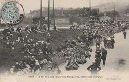 1-2----sens--89--le 89° De Ligne Retour De Manoeuvres-halte Route De Paron----livraison Gratuite - Sens