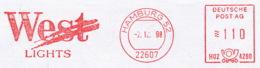 Freistempel 8843 West Zigarette Tabak - Affrancature Meccaniche Rosse (EMA)