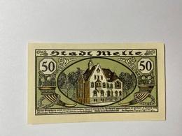 Allemagne Notgeld Melle 50 Pfennig - [ 3] 1918-1933 : République De Weimar