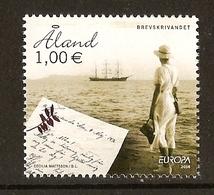 "ALAND ISLANDS  - EUROPA 2008 - Tema Anual : ""LA CARTA ESCRITA - WRITING LETTERS"".- SERIE N - Europa-CEPT"