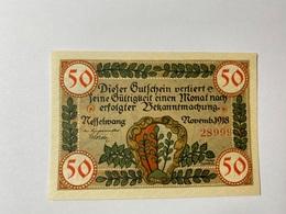 Allemagne Notgeld Messelwang 50 Pfennig - [ 3] 1918-1933 : République De Weimar