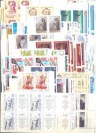 1987. USSR/Russia, Complete Year Set, 4 Sets In Blocks Of 4v Each + Sheetlets, Mint/** - 1923-1991 USSR