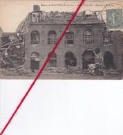 CP 62   -   DOUVRIN   - GUERRE 1914-18   -   Distillerie DELCOURT - France