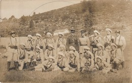 1-2--- Regiment De Chasseurs Alpins--veritable Carte Photo----livraison Gratuite - Régiments