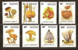 Zaire 1979 Yvertn° 958-65 *** MNH  Cote 18,00 Euro Flore Champignons Paddestoelen - 1971-79: Nuevos