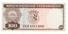 TIMOR P. 28a 100 E 1963 UNC - Timor