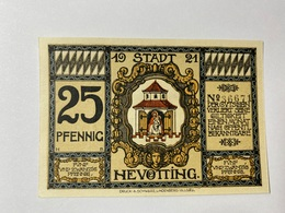 Allemagne Notgeld Nevotting 25 Pfennig - [ 3] 1918-1933 : République De Weimar