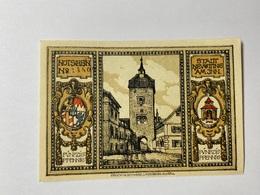 Allemagne Notgeld Nevotting 50 Pfennig - [ 3] 1918-1933 : République De Weimar