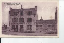 SAINT GUENOLE PENMARCH  Restaurant De La Mer Carte Pub - Frankreich