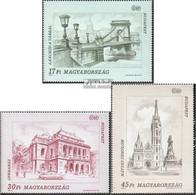 Ungarn 4270-4272 (kompl.Ausg.) Postfrisch 1993 Budapest - Ongebruikt