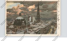 A 1000 WIEN, Innenstadt, Künstler-Karte Paul Hey, 1906 - Vienna Center