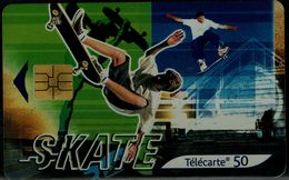 FRANCE 2001 PHONECARD SKATE USED VF!! - Sport