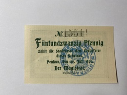 Allemagne Notgeld Penkum 25 Pfennig - [ 3] 1918-1933 : République De Weimar