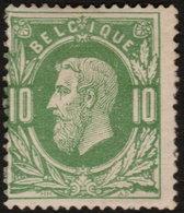 ✔️ België 1869 - Leopold II  - OBP 30 * MH - €40 - 1869-1883 Leopoldo II