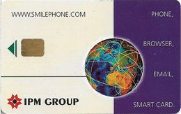 Italy - IPM Group - Smilephone, Internet Screenphone, Chip Siemens S37 - Phonecards